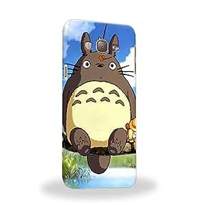 Case88 Premium Designs My Neighbor Totoro 0667 Carcasa/Funda dura para el Samsung Galaxy A8