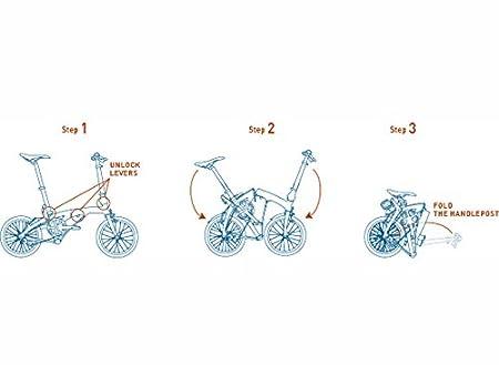 2016 Dahon EEZZ bicicleta plegable 3 velocidad negro 9.7 kg: Amazon.es: Deportes y aire libre