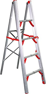 Telesteps 500FLS OSHA Compliant 5 ft Single sided folding step ladder (STIK)