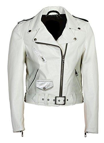 Blanc Manteau Classyak White Femme Cow zvwfqC