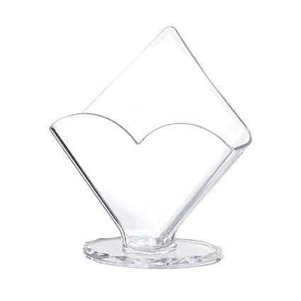 Amazon com: TOPBATHY Acrylic Napkin Holder for Dining Table