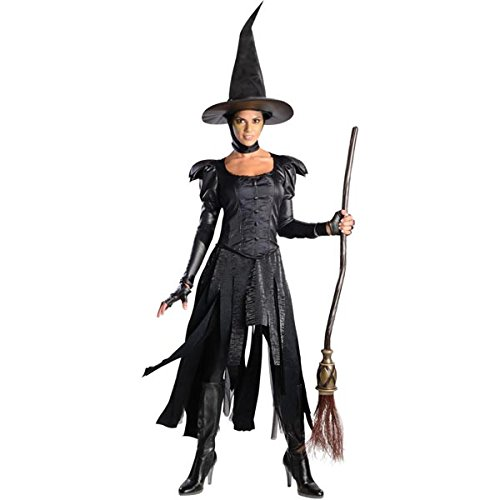 Rubie's Costume Disney's Oz The Great and Powerful Deluxe Teen Wicked Witch Of The West Dress and Hat, Black, Teen