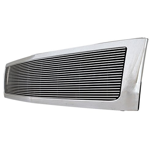 Paramount Restyling 42-0303 Full Replacement Packaged Billet Aluminum Grille with 4 mm Horizontal Bars