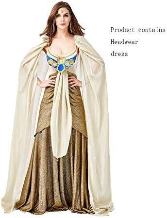 JIAWEI Disfraz de Halloween Renacimiento Sexy glamoroso Disfraz de ...