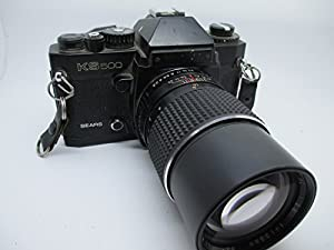 Sears KS 500 SLR 35MM Professional film camera with Lens