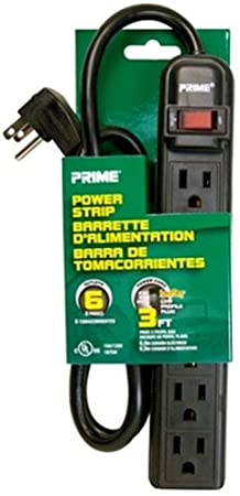 Review Prime Wire PB922009 6-Outlet