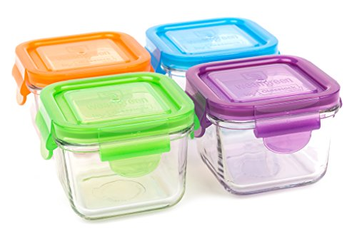 glass baby food storage jars - 7