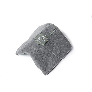 Trtl Pillow - Scientifically Proven Super Soft Neck Support Travel Pillow – Machine Washable Grey