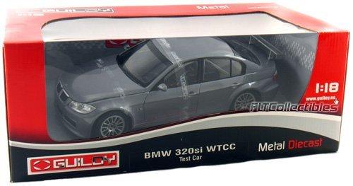 Diecast Test Car (BMW 320 Si WTCC Test Car Grey 1:18 Diecast Model)