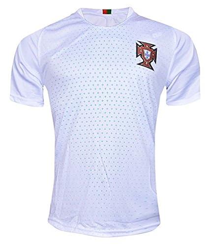 822615f91a1 aaDDa Sportswear Non Branded Portugal White Fan Jersey (only) for Men (L)