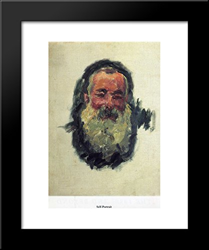 - Self Portrait 20x24 Framed Art Print by Monet, Claude