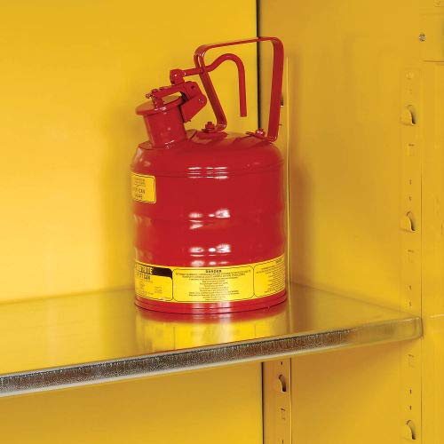 Eagle Flammable Cabinet with Manual Close Double Door 60 Gallon (1962)
