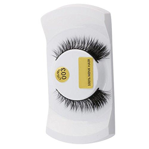 Demi Mink - NewKelly 3D Lashes Mink Natural Thick False Fake Eyelashes Eye Lashes Makeup Extensions