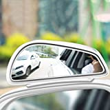 2 Pack Blind Spot Mirrors, Unique Design Car Door