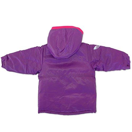Originals Doublé Rembourré Rose Violet Adidas Enfants Bébé Lila Veste D'hiver Épais 1wdwq7gxO