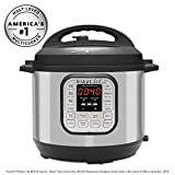 Instant Pot DUO60 6 Qt 7-in-1 Multi-Use Programmable Pressure Cooker,...