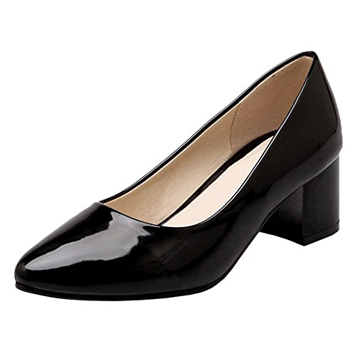 Spring Slip Black Women's On Shoes CCOLCEPT Court 6HSW6n