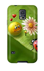 Hot 1503736K48496131 For Galaxy S5 Premium Tpu Case Cover Love Protective Case