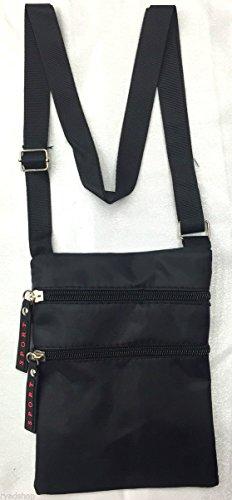 Tasche TASCHE Tasche Flache Schultertasche Sport Herren Damen Taschen nicht teuer schwarz