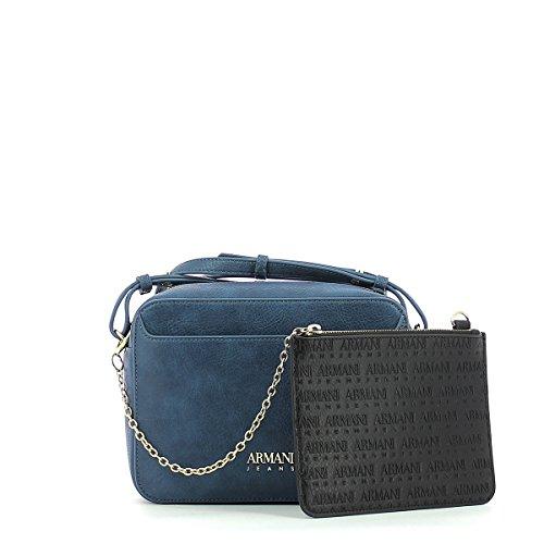Armani Jeans 922303 Bolso con bandolera Mujer Azul oceano UNICA OCEAN