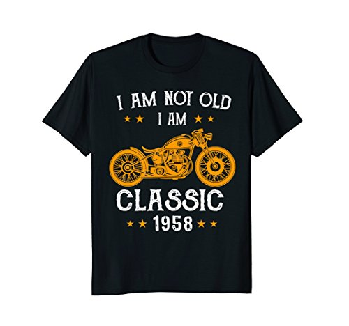 Bikers Choice Needles (I'm Not Old I'm a Classic 1958 Biker 60th Birthday T-Shirt)