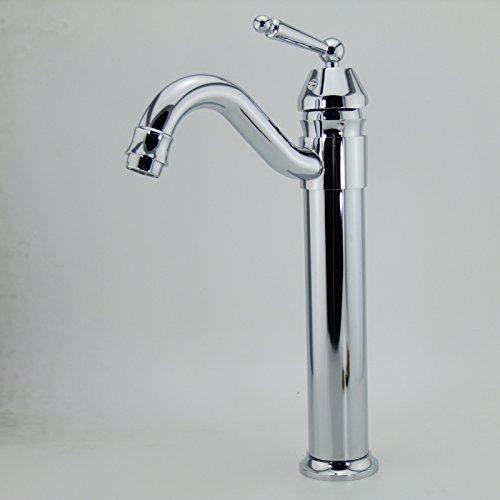 U-Enjoy Moderne Verchromter Top-Qualität Einhand-Messing Swivel Home Bad Küche Küche-Hahn-Mischer [Kostenloser Versand]