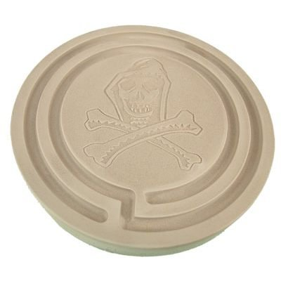 Azenta Products 42738 ~ Grim Reaper ~ 2 Hour Powder Incense Stone Burner