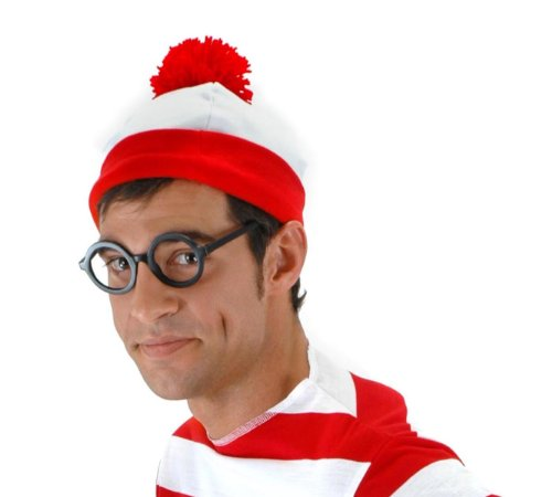 [elope Waldo Beanie, Red, One Size] (Red Beanie Costume)