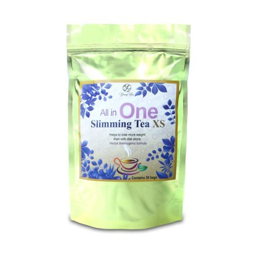 All in One Detox Tea for Weight Loss – Appetite Suppressant, Energy Booster and Colon Cleanser