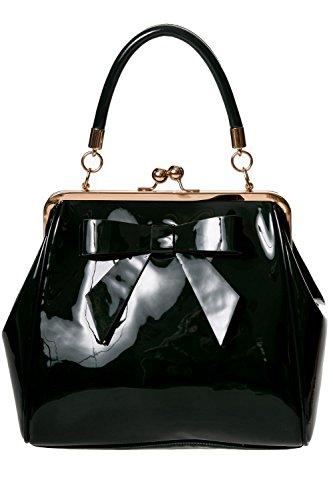 Dancing Days American Vintage Rockabilly Retro 50s Top Handle Bag Handbag - Green (One Size)