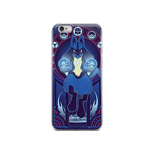 iPhone 6/6s Case Anti-Scratch Japanese Comic Transparent Cases Cover Art of A Fighter Anime & Manga Graphic Novels Crystal -