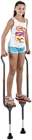 Flybar Maverick Walking Stilts for Kids Small Adjustable Height for Ages 5 Up, Up to 190 Pounds