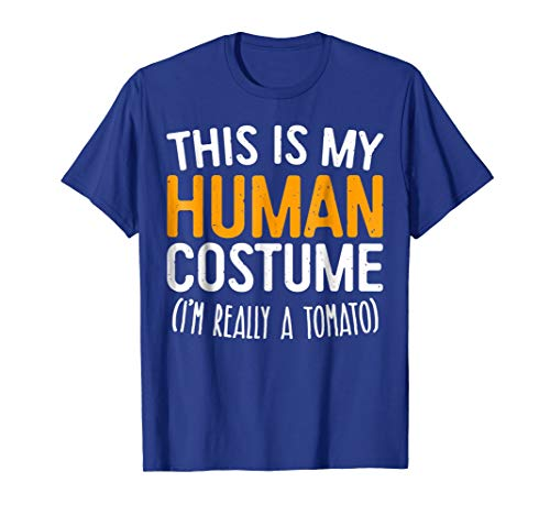 This Is My Human Costume I'm Really A Tomato T-Shirt