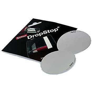 Cork Pops 19200 Drop Stop Wine Pouring Disc, Mini CD Case Packaging, Set of 2  Reusable Discs, Silver