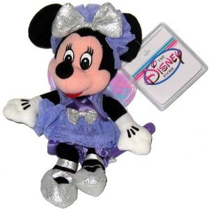 Minnie Sugar Plum Fairy Disney Mini Bean Bag Plush -