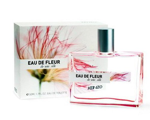 KENZO EAU DE FLEUR DE SOIE SILK by Kenzo for WOMEN: EDT SPRAY 1.7 OZ (Silk Spray Perfume)