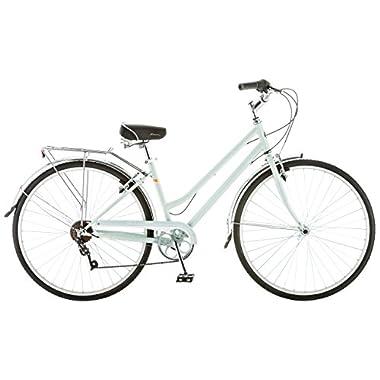 Schwinn Women's S4023KMB Wayfarer Hybrid Bike , 16 /Small, Mint