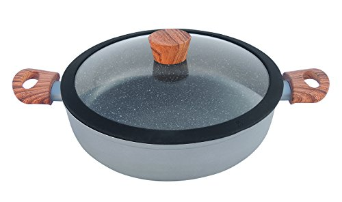 - Westinghouse Marble Coated Grey Non-Stick 12.5-inch Low Casserole