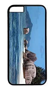 Adorable Island Rock La Digue Seychelles Hard Case Protective Shell Cell Phone Cover For Samsung Galasy S3 I9300 (5.5 Inch) - PC Black