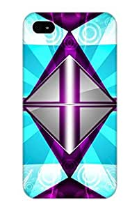 Awesome Design Abstract Light Hard Case Cover For Iphone 4/4s(gift For Lovers)
