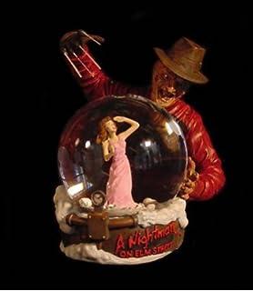 freddy krueger horror globe gift