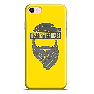 Loud Universe iPhone 7 Case Respect The Beard Slim Profile Light weight Wrap Around iPhone 7 Cover