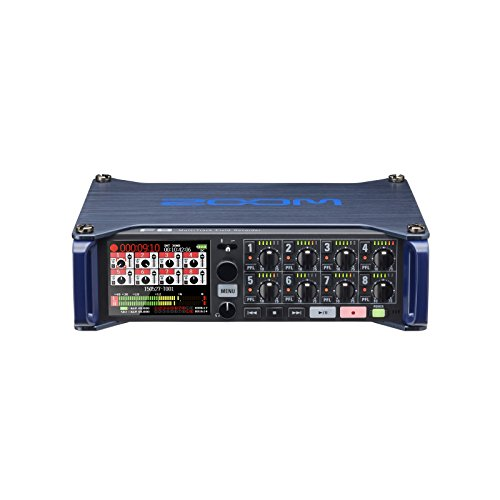 - Zoom F8 MultiTrack Field Recorder