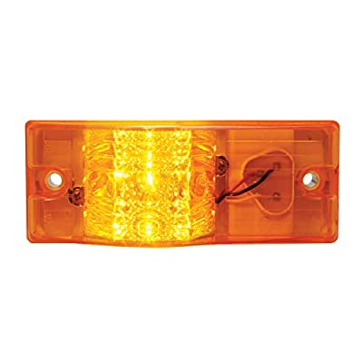 Grand General 78602 Side Mount Spyder Amber 9-Led Marker/Turn Light with Plug: Automotive