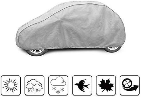 Imperm/éable Respirant et Anti UV Road Club b/âche Auto de Protection Compatible avec Fiat 500 2015 - Aujourdhui