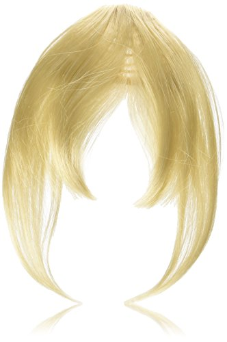 Clip Lok Bangs by Revlon Clip In Bang Fringe Hairpiece - Light Blonde
