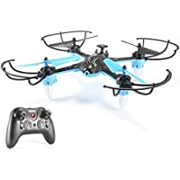 OOFAY Drone with Camera H235 Drop-Resistant Four-Axis Aircraft Remote Control Helicopter 2.4G Anti-Jamming Frequency
