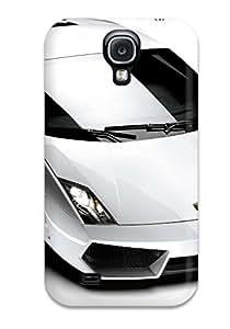 Elliot D. Stewart's Shop 5313219K94873916 Durable Case For The Galaxy S4- Eco-friendly Retail Packaging(lamborghini Gallardo Lp In White)