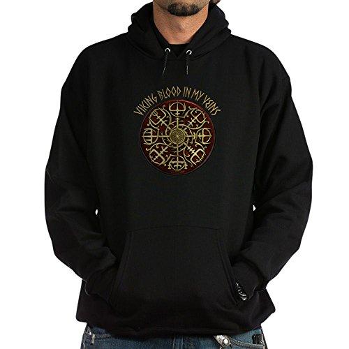 CafePress Nordic Guidance Viking Blood Hoodie Pullover Hoodie, Classic & Comfortable Hooded Sweatshirt Black ()