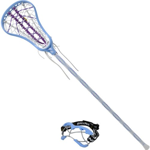 Brine Women's Lacrosse Starter Pack, Carolina Blue